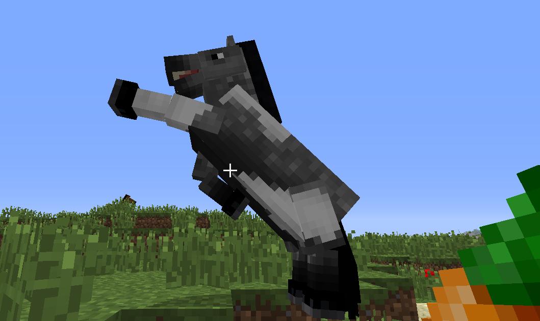 minecraft-horse-bucking