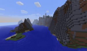 Útesový přechod - Minecraft server