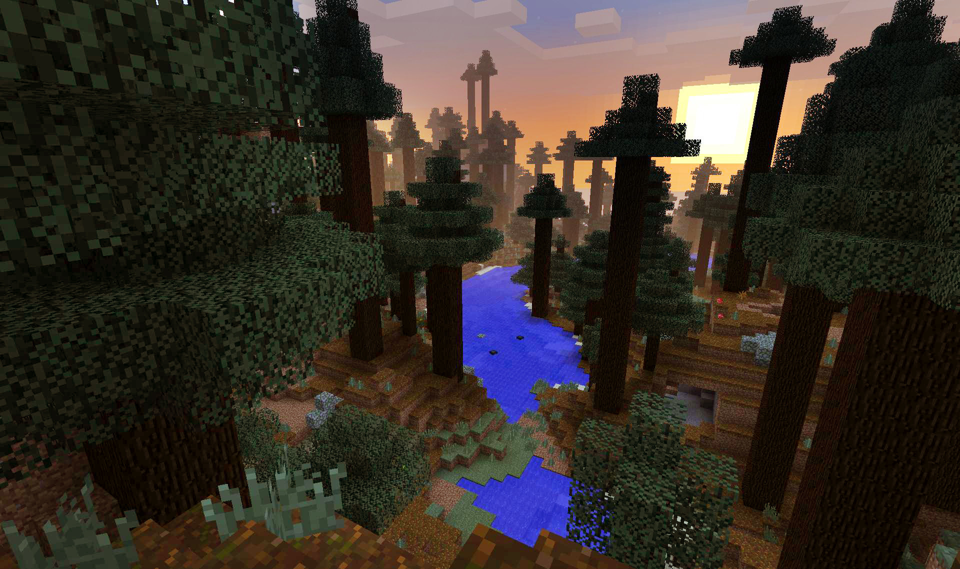 Červený les - Minecraft server