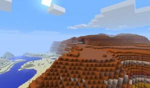 Mesa biom - Minecraft server