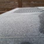 Krásná sněhová...teda prachová pokrývka