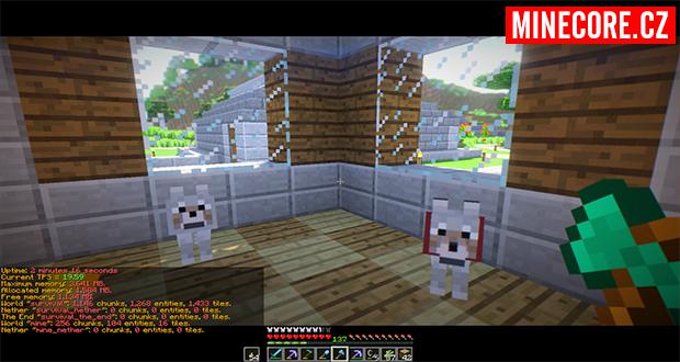 Hafíčci na Minecraft serveru