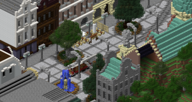 Minecore City in Minecraft 1.12.2